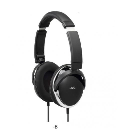 JVC HA-S660 Casque audio Circum-aural Noir