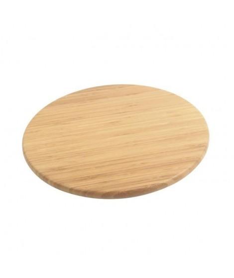 Plateau a fromage en bambou de forme ronde
