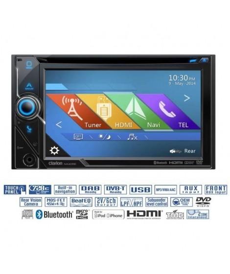 CLARION NX405E Autoradio 2 DIN GPS DVD Bluetooth
