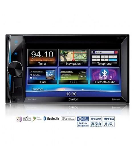 "CLARION NX302E Autoradio GPS 6.5"" USB Bluetooth Parrot"