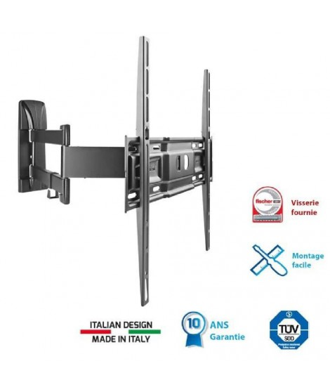 "MELICONI 400 SDR Support TV mural orientable 40""-5"