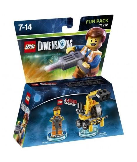 Figurine LEGO Dimensions - Emmet - La Grande Aventure LEGO