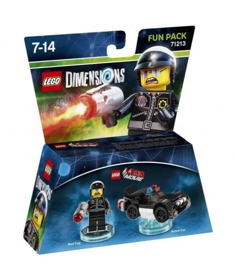 Figurine LEGO Dimensions - Méchant Flic  - La Grande Aventure LEGO