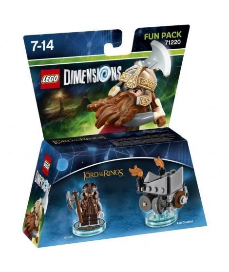Figurine LEGO Dimensions - Gimli - Le Seigneur des Anneaux