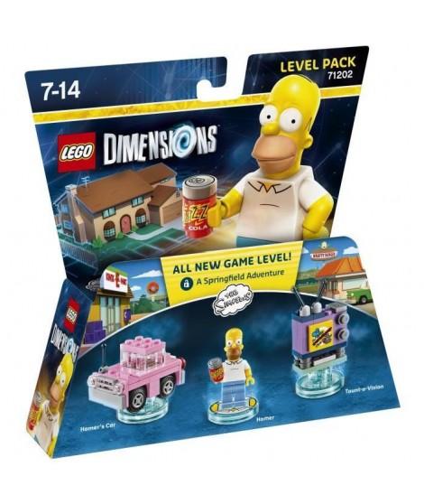Figurine LEGO Dimensions - Homer Simpson - Les Simpson