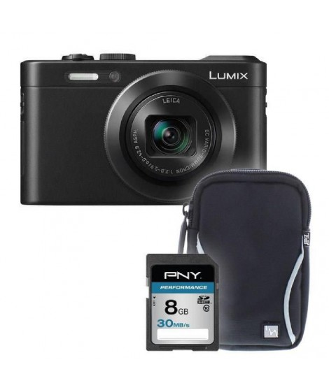 PANASONIC LF1 noir + sacoche + carte 8Go -  Appareil photo compact