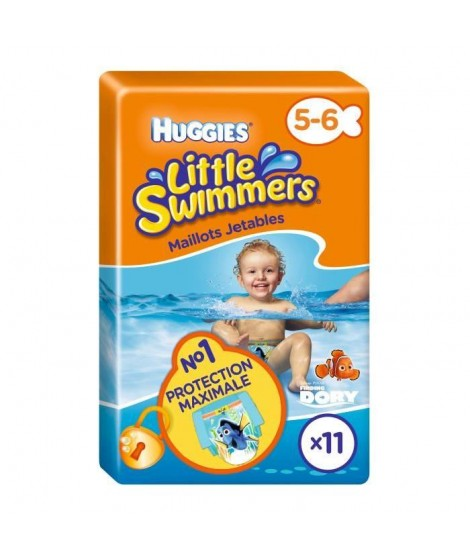 HUGGIES Little Swimmers Taille 5-6 x11