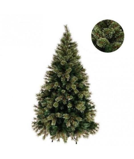 FORET ENCHANTEE Sapin de Noël Luxe Nevada 195 cm vert
