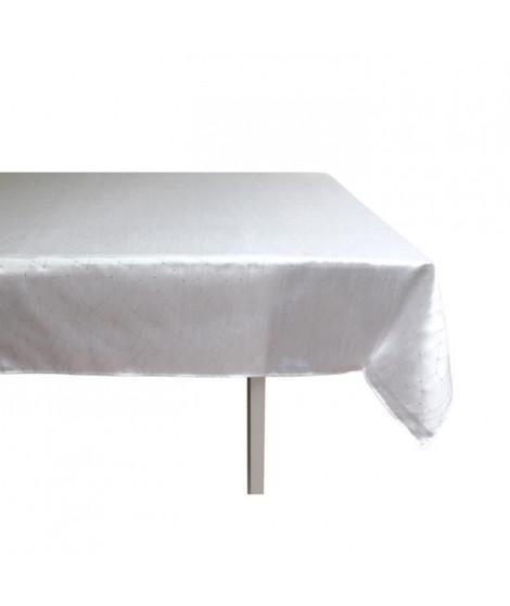 SOLEIL D'OCRE Nappe de table Fiesta 140x300 cm blanc