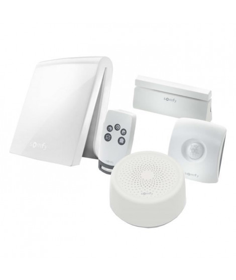 SOMFY Systeme Alarme maison anti-intrusion TaHoma Serenity Essential