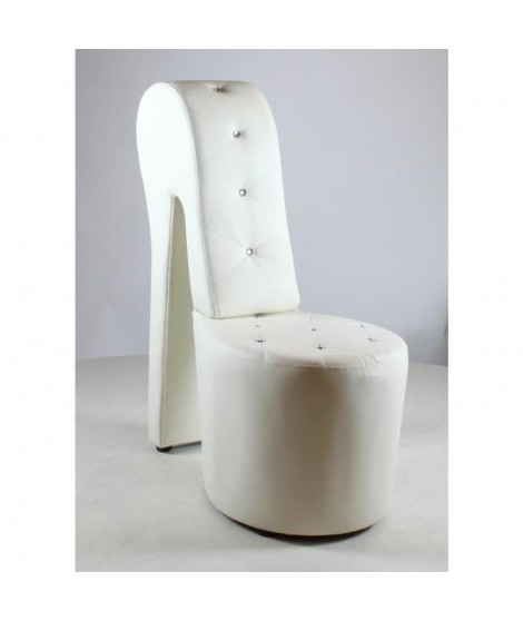 CARLA Fauteuil chaussure  blanc