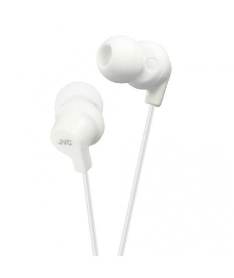 JVC HA-FX10 Écouteurs blanc souple