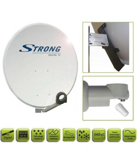 STRONG SRTD80SPL702 Parabole avec tete LNB
