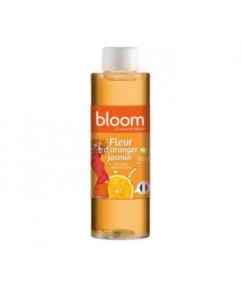 DEVINEAU Recharge 150ml pour diffuseur de parfum a froid Bloom Fleur d'Oranger Jasmin