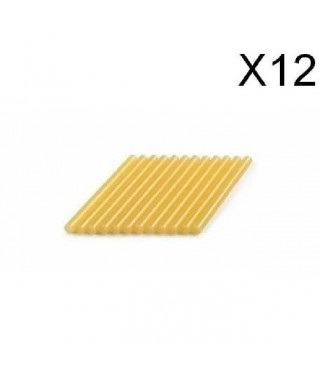 DREMEL 12 bâtons de colle spéciale bois 7mm 165°C