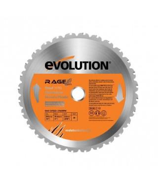 EVOLUTION Lame multi-matériaux Lamrage3 255mm