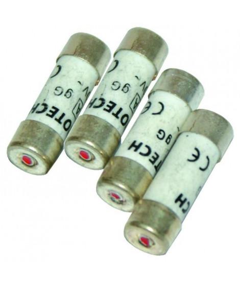 VOLTMAN Pack de 4 fusibles avec voyant 2 a 6 A