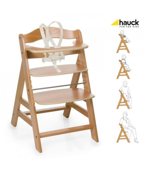 Hauck Chaise Bois Évolutive Alpha +