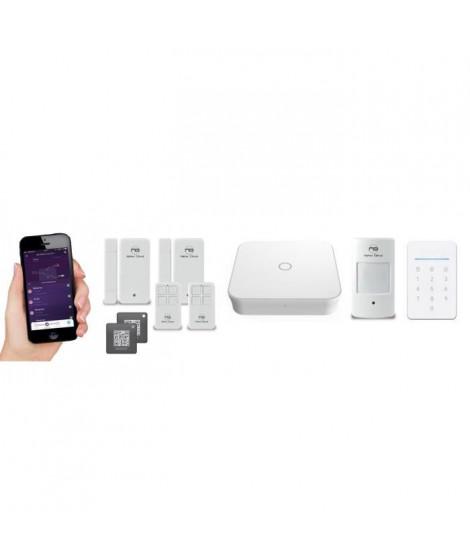 NEW DEAL Pack Alarme maison WIFI / LAN /GSM Live Pro-L15+ sans fil connectée avec sirene - clavier et RFID