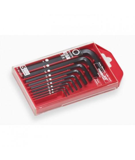 MEISTER Coffret de 9 clés males 1,5 - 10 mm