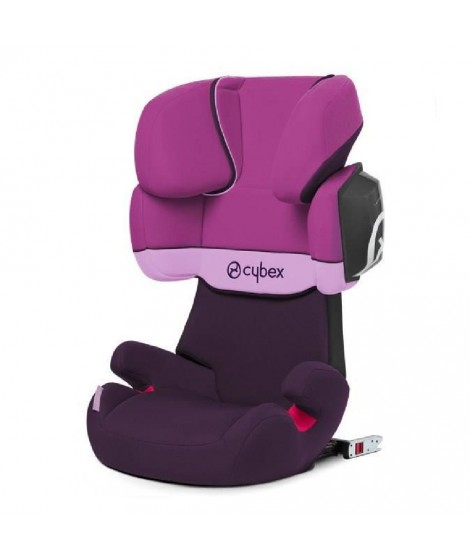CYBEX Siege auto Groupe 2/3 Solution X2-fix Purple Rain