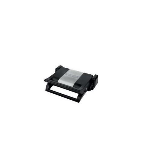PRINCESS Grill multifonction avec 3 jeux de plaques ? 1500W ? 2 x L31.5 x P21.5 cm - Noir