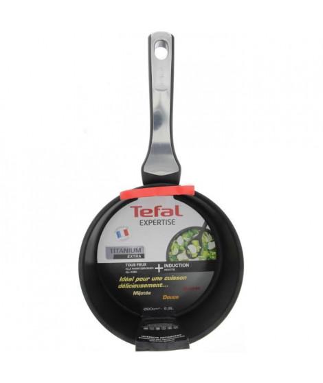 TEFAL Casserole + livre de recettes téléchargeable Expertise GV5 20 cm noir