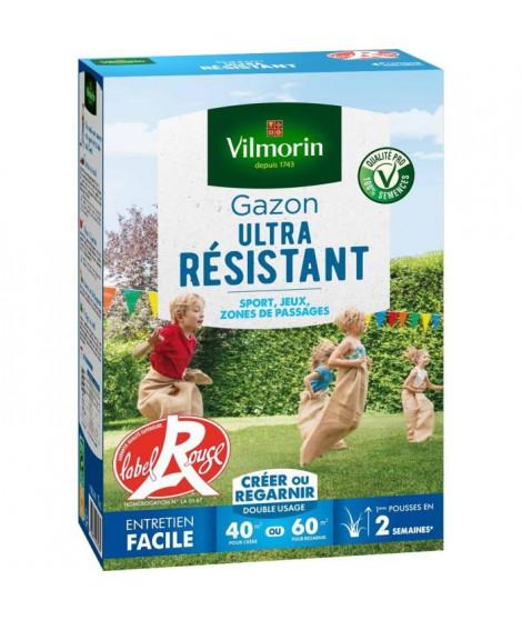 VILMORIN Semences de gazon ultra-résistant Label Rouge - 1 kg