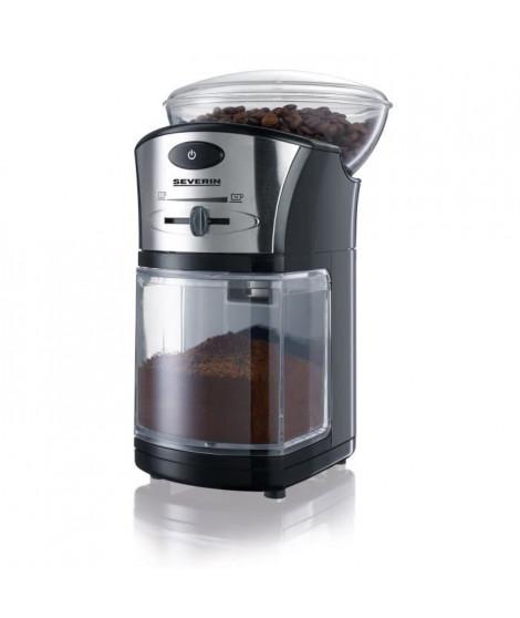 SEVERIN Broyeur a café - 100W - 150g - Noir / Argent