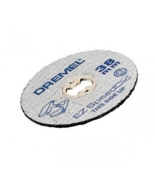 12 disques ez speedclic 38mm ép 1.2 mm/metaux