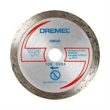 DREMEL 2 disques a meuler ez speedclic - s541
