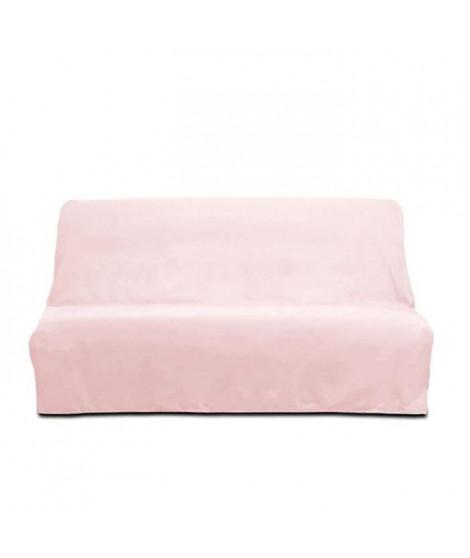 SOLEIL D'OCRE Housse clic-clac en coton Panama - Rose