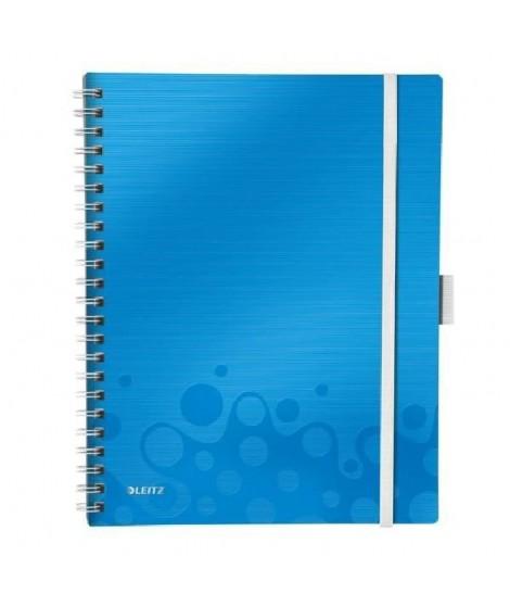 LEITZ Cahier Be Mobile A4 Ligné WOW Bleu