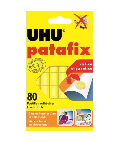 UHU Patafix Jaune 80 pastilles