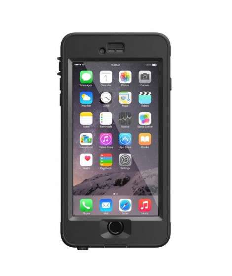 Lifeproof - Coque Nüüd iPhone 6 Plus - noir
