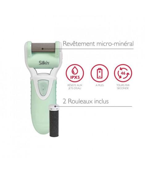 SILK'N MPW1PE1001 Râpe électrique anti-callosités MicroPedi Wet & Dry - 2 rouleaux inclus