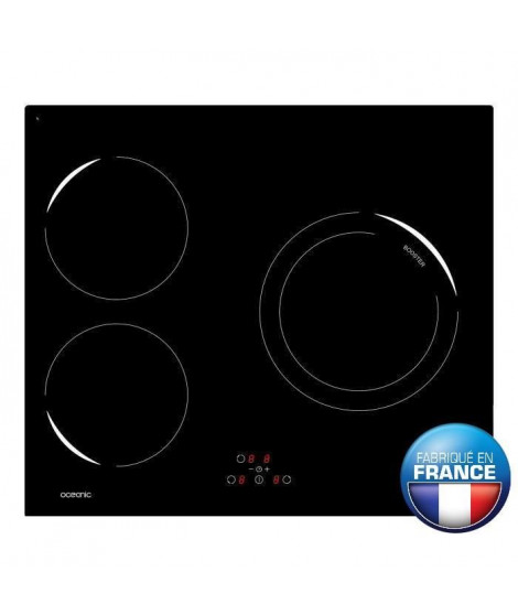 OCEANIC OCEATI3Z1B Table de cuisson a induction
