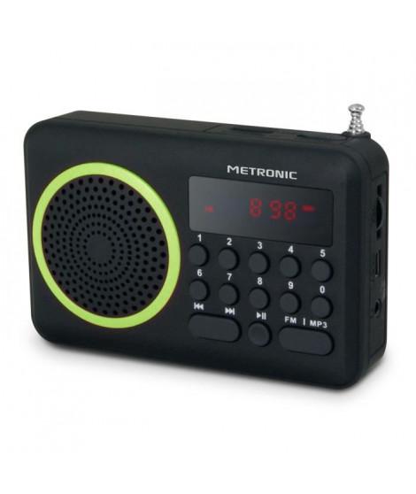 MET 477202 Radio portable FM Vert