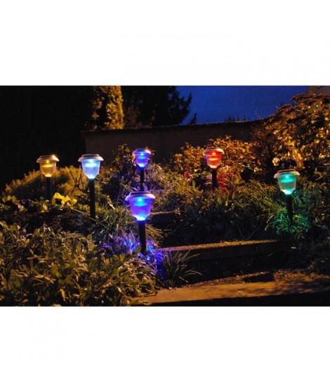 Décoration a énergie solaire - lot de 6 lanternes