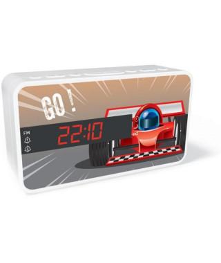 BIGBEN RR15CAR Radio réveil - Affichage LED - Snooze - Voiture