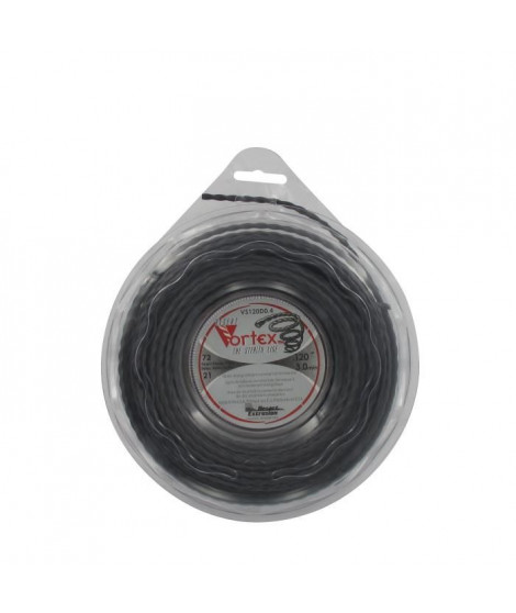 JARDIN PRATIQUE Fil nylon copolymere VORTEX pour débroussailleuse - Ø 3 mm - L 21 m