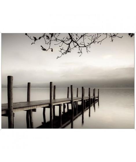 Tableau déco BCN 50x70 - Paysage ponton lac
