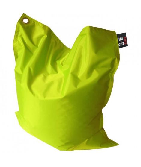 Pouf XXL imperméable vert  110x130 cm