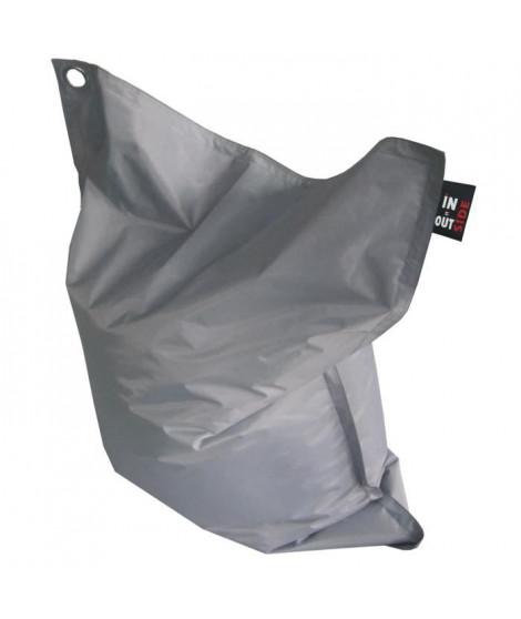 Pouf XXL imperméable Gris 110x130 cm