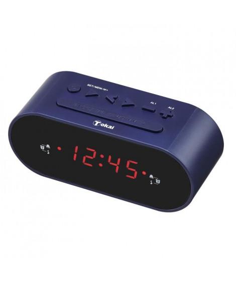 TOKAI TC 159 ST Radio-réveil - Double alarmes