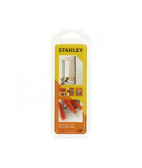 STANLEY Kit multi-matériaux pour miroir et cadre STF78107-XJ