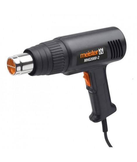 MEISTER Décapeur thermique 2000 W MHG2000-2