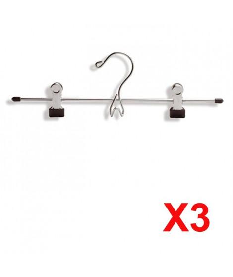 3 LOTS 3 PINCES JUPES CHROME LINE (32 CM)