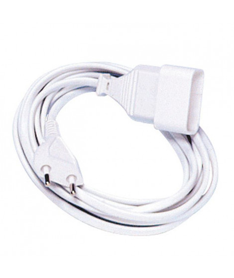 COGEX Rallonge électrique 3m 6A 2x0.75mm²