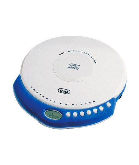TREVI CMP 498 Lecteur CD - Ecran LCD - Blanc